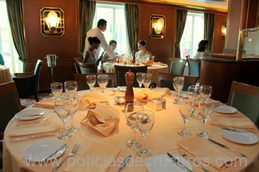 Opíparo almuerzo en el Restaurante Portofino