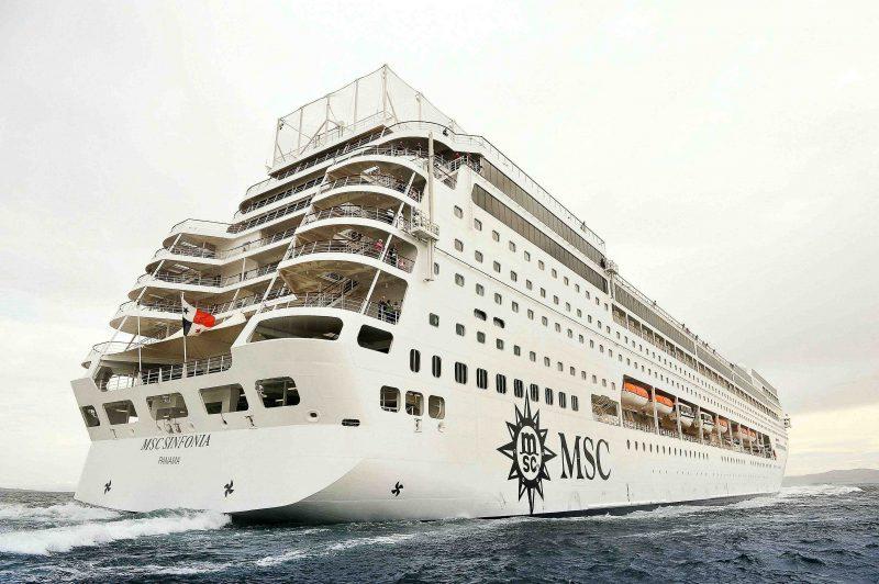 Barco MSC Sinfonia