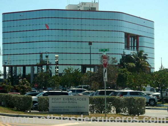 Edificio de la Dirección de Port Everglades