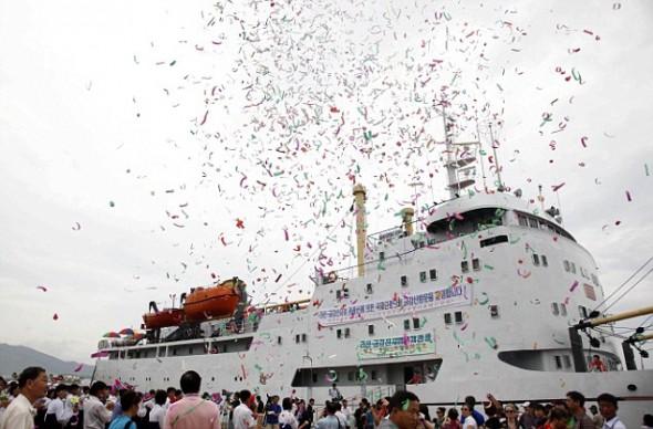 El peor crucero del mundo, el Mangyongbong