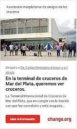 Firmá la petición para que haya cruceros en Mar del Plata