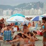 Playa en Santos