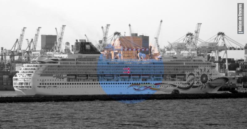 Las mejores cabinas con balcón (para evitar el mareo) están al medio de la nave y en las cubiertas inferiores.