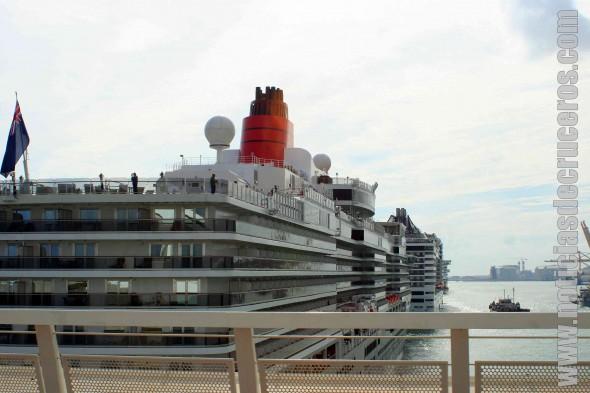 Sucesión de Cruceros en Barcelona