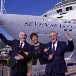 Seven Seas Explorer con ejecutivos
