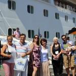 Ganadores del concurso Navegando con Costa Cruceros