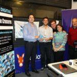 Entrega de premios en la Trade-Radio