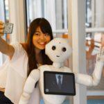 Robot Pepper en el Costa Diadema