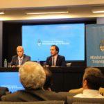 Conferencia de Prensa en Ministerio de Transporte