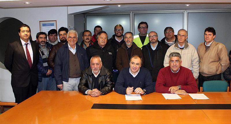 EPV firma trabajadores