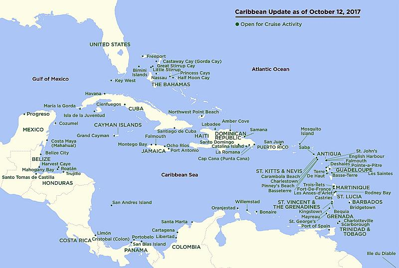 El Caribe está abierto