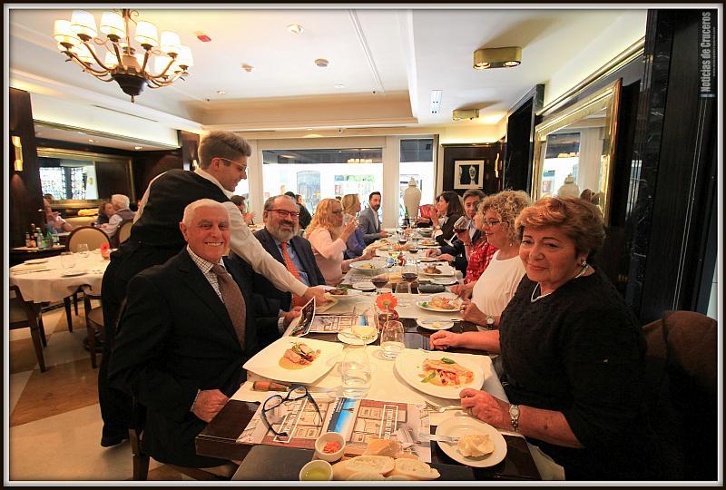 Almuerzo Uniworld en Buenos Aires