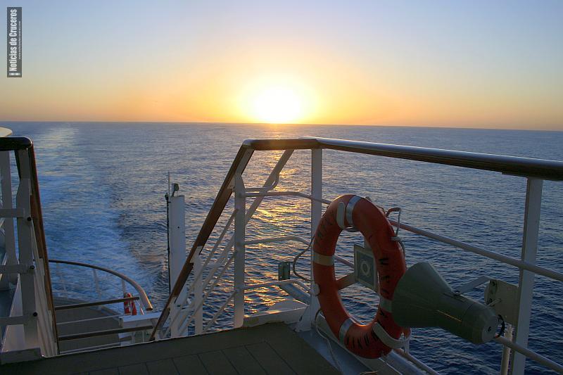 Estela de lo navegado