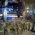 Champagne y anuncios