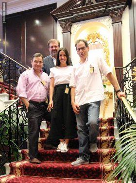 Equipo Noticias de Cruceros TV 2017