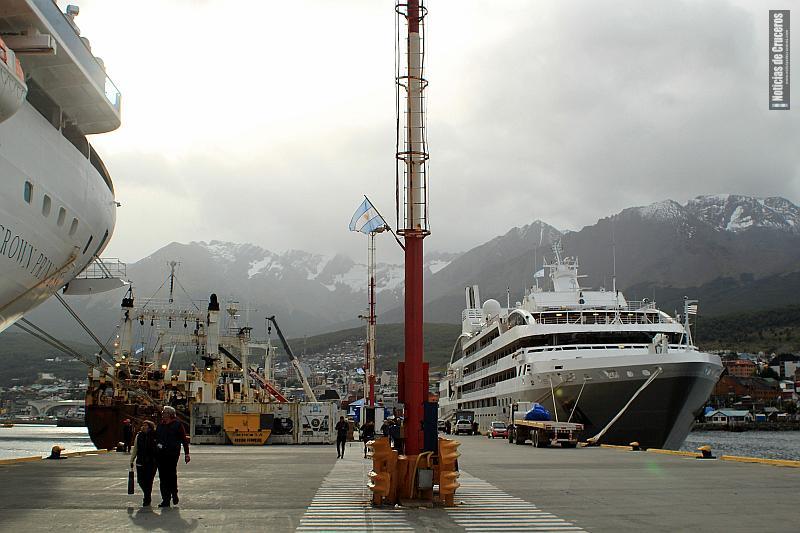 WiFi gratis en el puerto de Ushuaia
