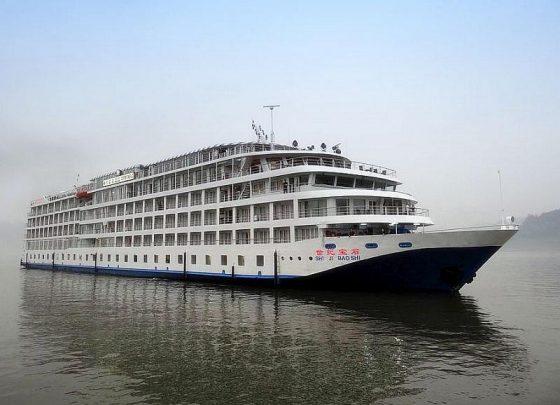 Crucero fluvial por el río Yangtsé.