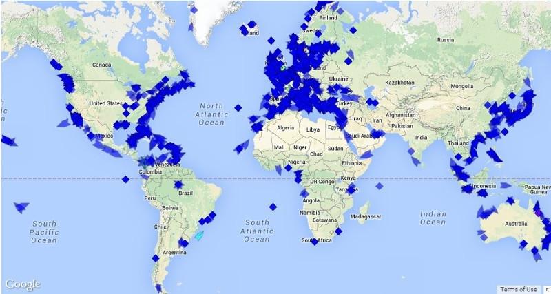 Cruceros por el mundo