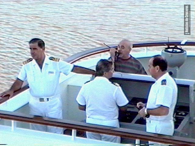 Servicio de practicaje a bordo de un crucero