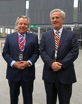 José Manuel Urenda y Esteban Bilbao