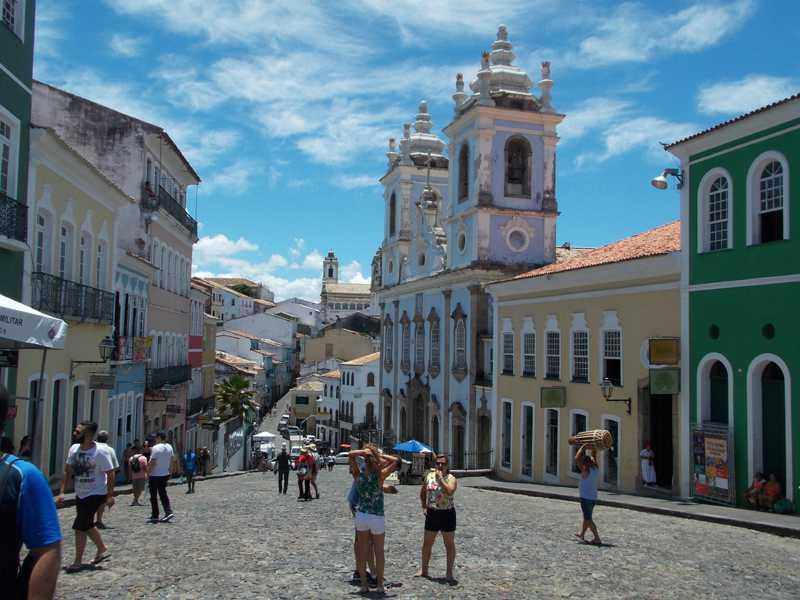 """El mágico """"Pelourinho"""", el barrio más tradicional de Salvador de Bahía"""