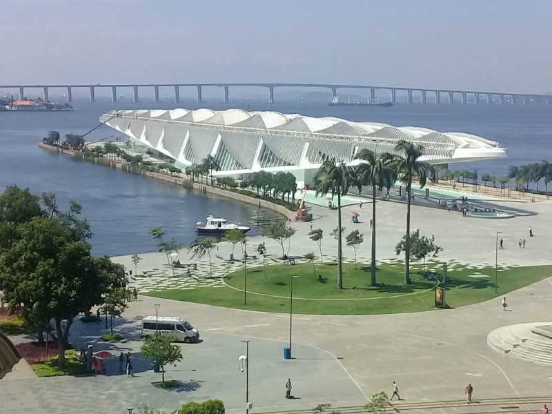 El Museo del Mañana, obra del genial arquitecto e ingeniero catalán Santiago Calatrava