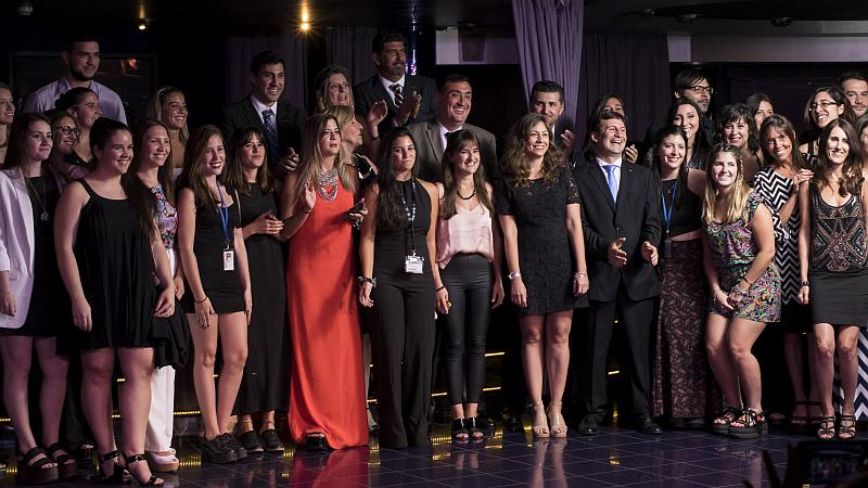 El Staff de MSC Cruceros en los MSC Awards 2018