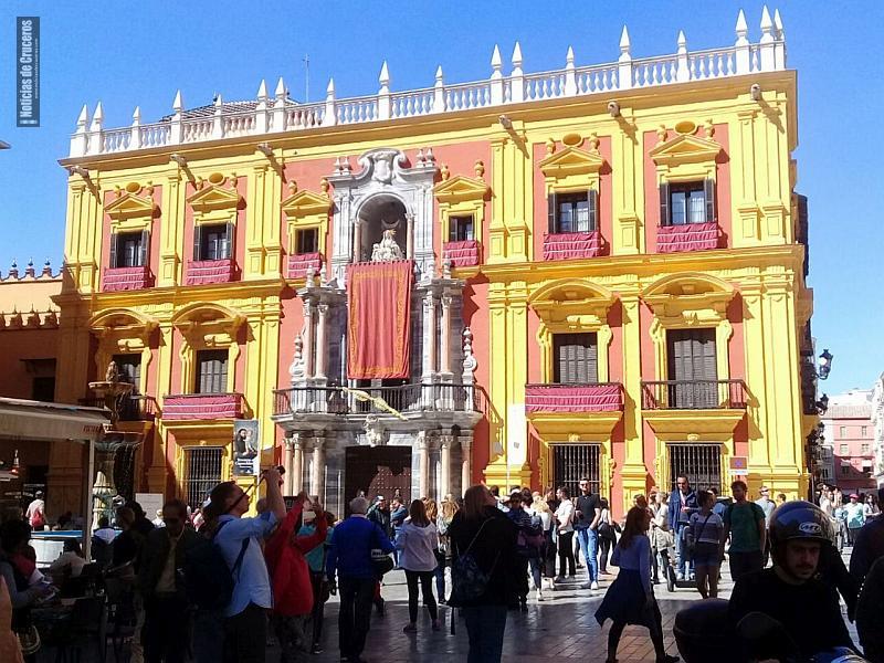 El Ayuntamiento en Málaga