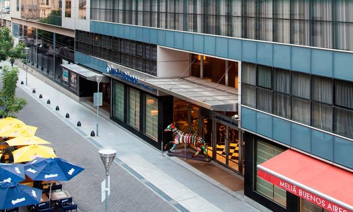 El Hotel Meliá, sitio donde se realizó el lanzamiento de la temporada 2019-2020 de MSC Cruceros