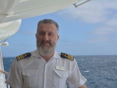 El Comandante del Costa Fascinosa, Capitán Giulio Valestra.