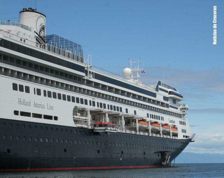 El Zaandam, el primer barco de la temporada 2017/2018 filmado para NDC TV