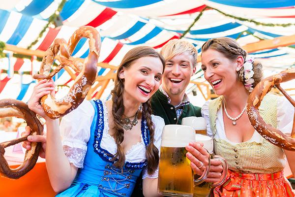 Alegría, baile, comidas típicas y mucha cerveza en la Oktoberfest 2018