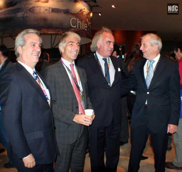 Esteban Bilbao, Roberto Fusaro, Sebastián Montero Lira y Chris Hayman