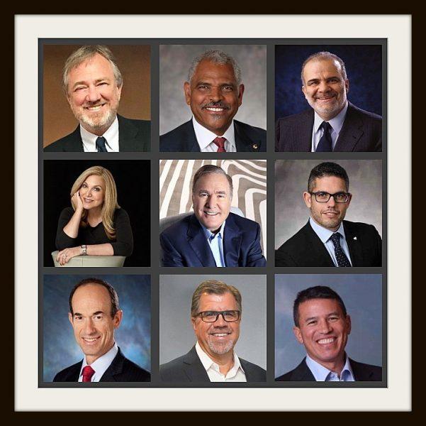 Profesionales del mundo de los cruceros, Presidentes y CEOs