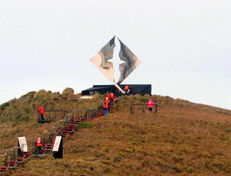 Cabo de Hornos. Monumento al albatros