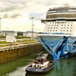 Canal de Panamá Norwegian Bliss