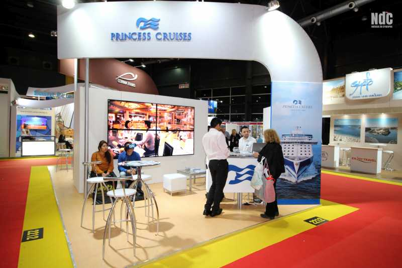 Stand de Princess Cruises en la FIT 2018