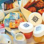 Plásticos de Un Solo Uso MSC Breakfast
