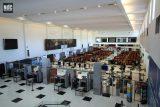 Vista del hall de la TQM Terminal Quinquela Martín