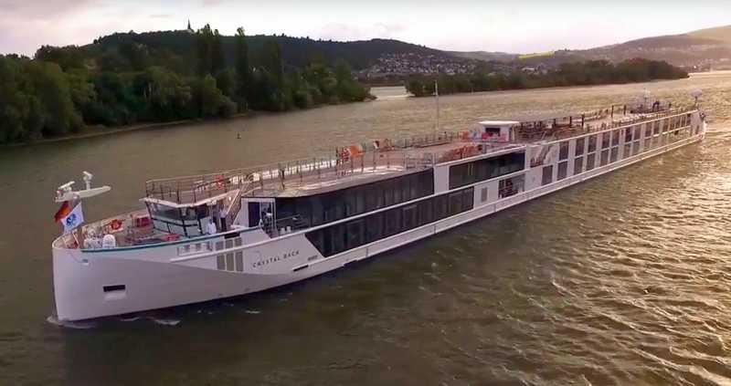 El Crystal Bach, lujo y seguridad en navegación fluvial