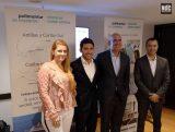 Bárbara Roddick, Pablo Yuri, Alejandro Páez y Diego Cordido Gasperi en la presentación de los Trotanautas y los Rincones Secretos de Pullmantur.