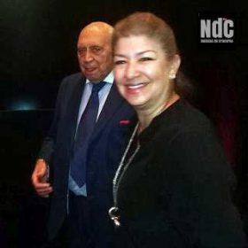 Raúl Roca y Sylvia St. Lawrence