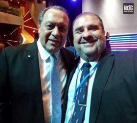 Secretario de Turismo de la Nación y Ricardo Marengo, Director de Noticias de Cruceros