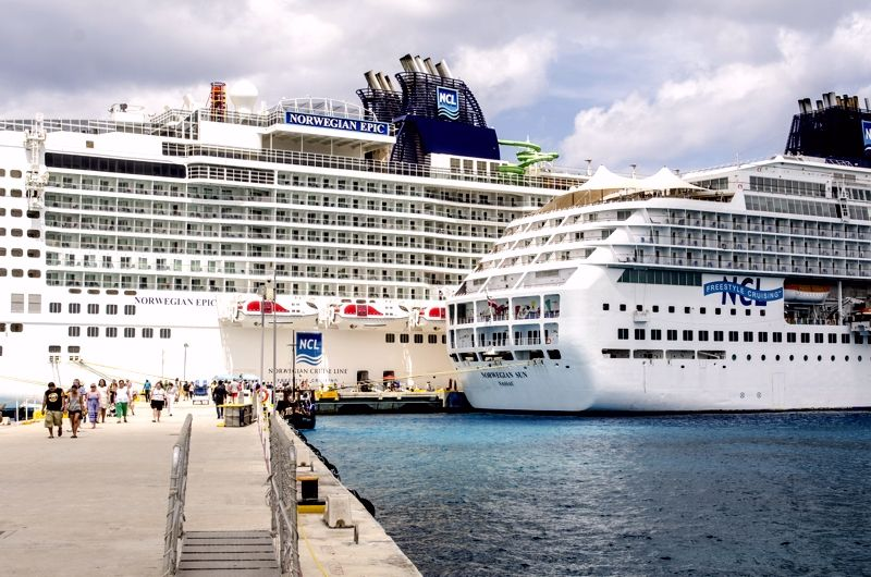 Industria de los Cruceros - Cozumel 2