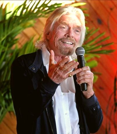 Virgin Voyages Richard Branson
