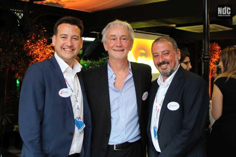 Iain Baillie, Rolando Parera y Juan Carlos Yebra