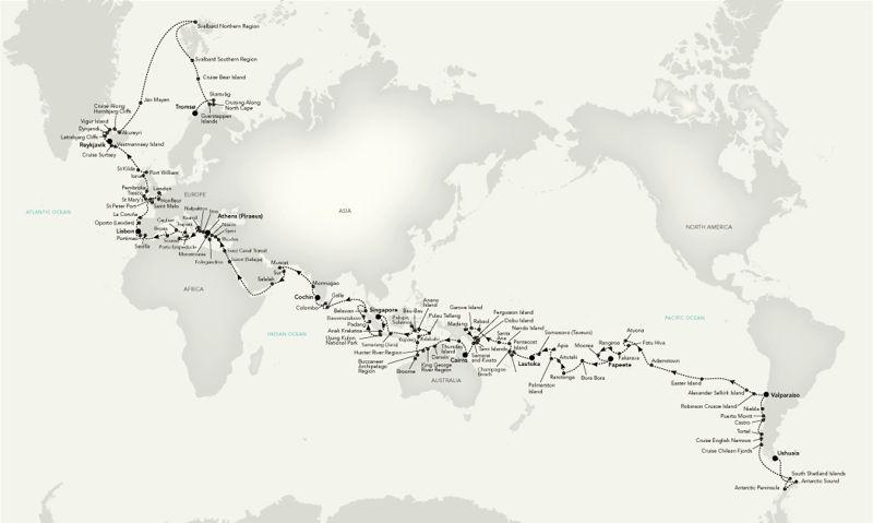 Primera Vuelta al Mundo - Expedicion