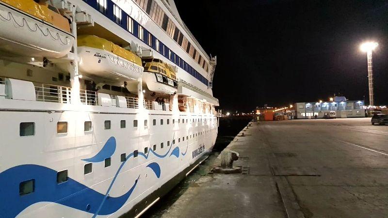 Puertos Argentinos - AIDAAura - Puerto Madryn