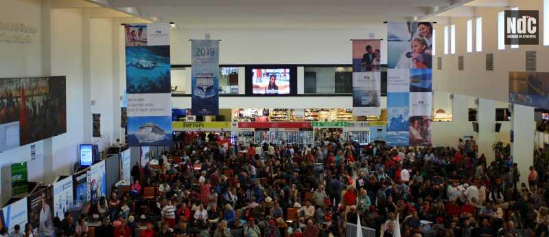 La Terminal Quinquela Martín operando a máxima capacidad en su récord de la temporada.