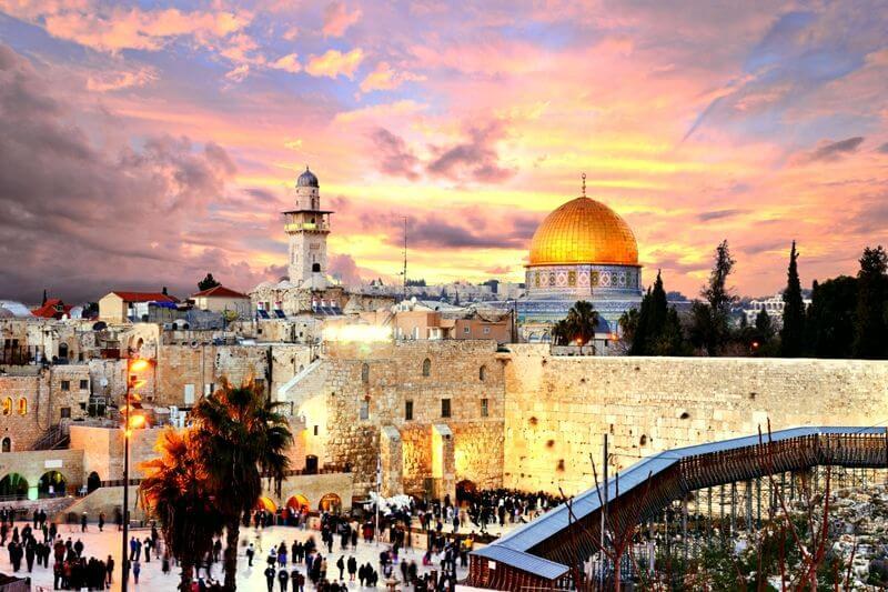 Tres Continentes - Jerusalén